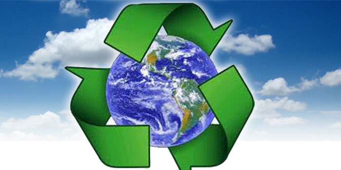 the recycling center